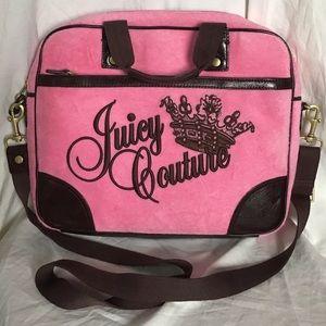 Juicy Couture Portfolio Laptop Crossbody Bag